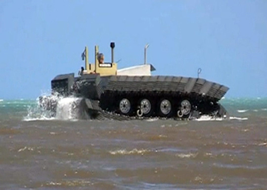 CAAT - Amphibious Tracked Transport Vehicle
