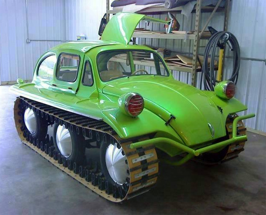 tracked VW bug